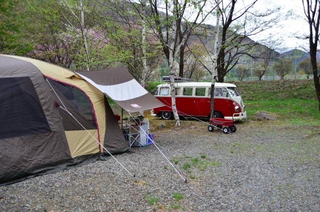 キャンプワーゲンバス