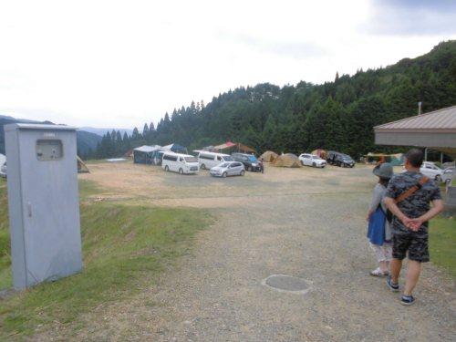 おおやキャンプ場絶景区画サイト