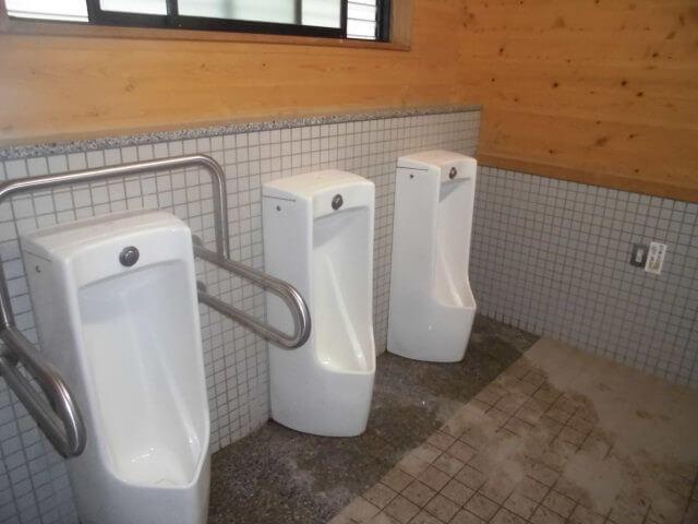 気比の浜キャンプ場のトイレ