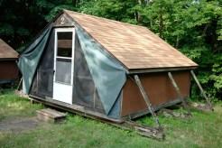Tent Cabin at Singing Hills