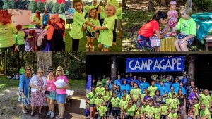 Camp Agape Portland is a family residential camp that offers a summer camp experience to cancer-afflicted children and their families.
