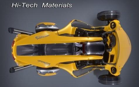 T-REX 16S Hi-Tech materials & characteristics