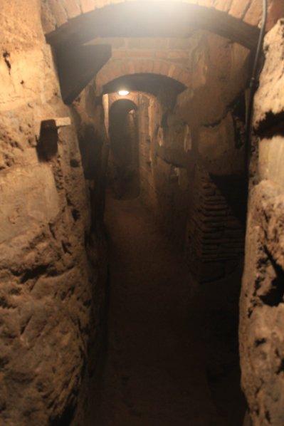 Catacombe S. Teodora Rignano Flaminio