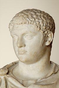 Publio Settimio Geta (7 Marzo 189 – 1 febbraio 212), figlio di Settimio Severo e Giulia Domna e fratello di Caracalla