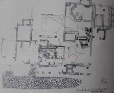 Pianta della Mansio con Tabernae