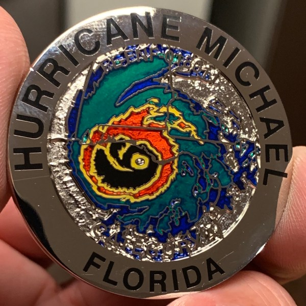 hurricane florence challenge coin