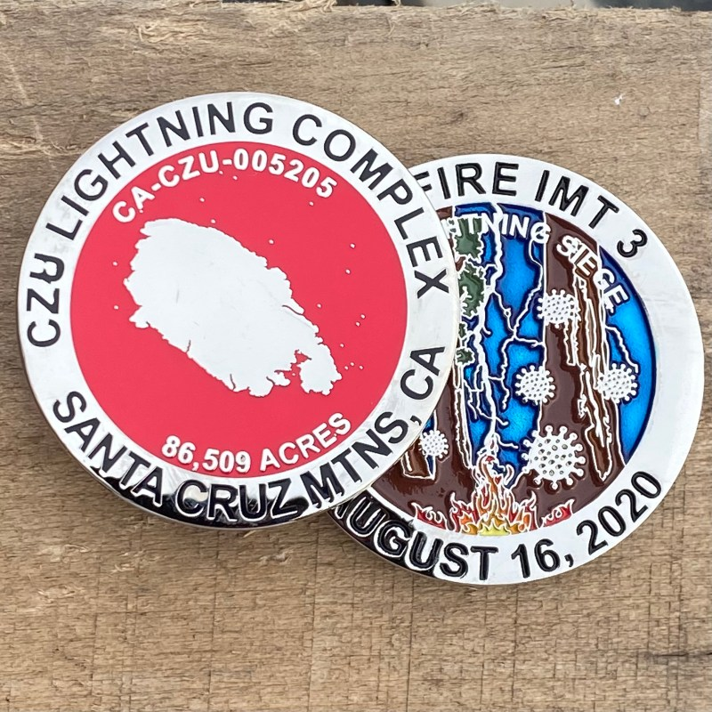 CZU Lightning Complex both sides
