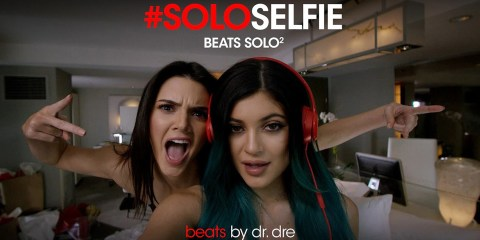 The Beats Solo2 headphone