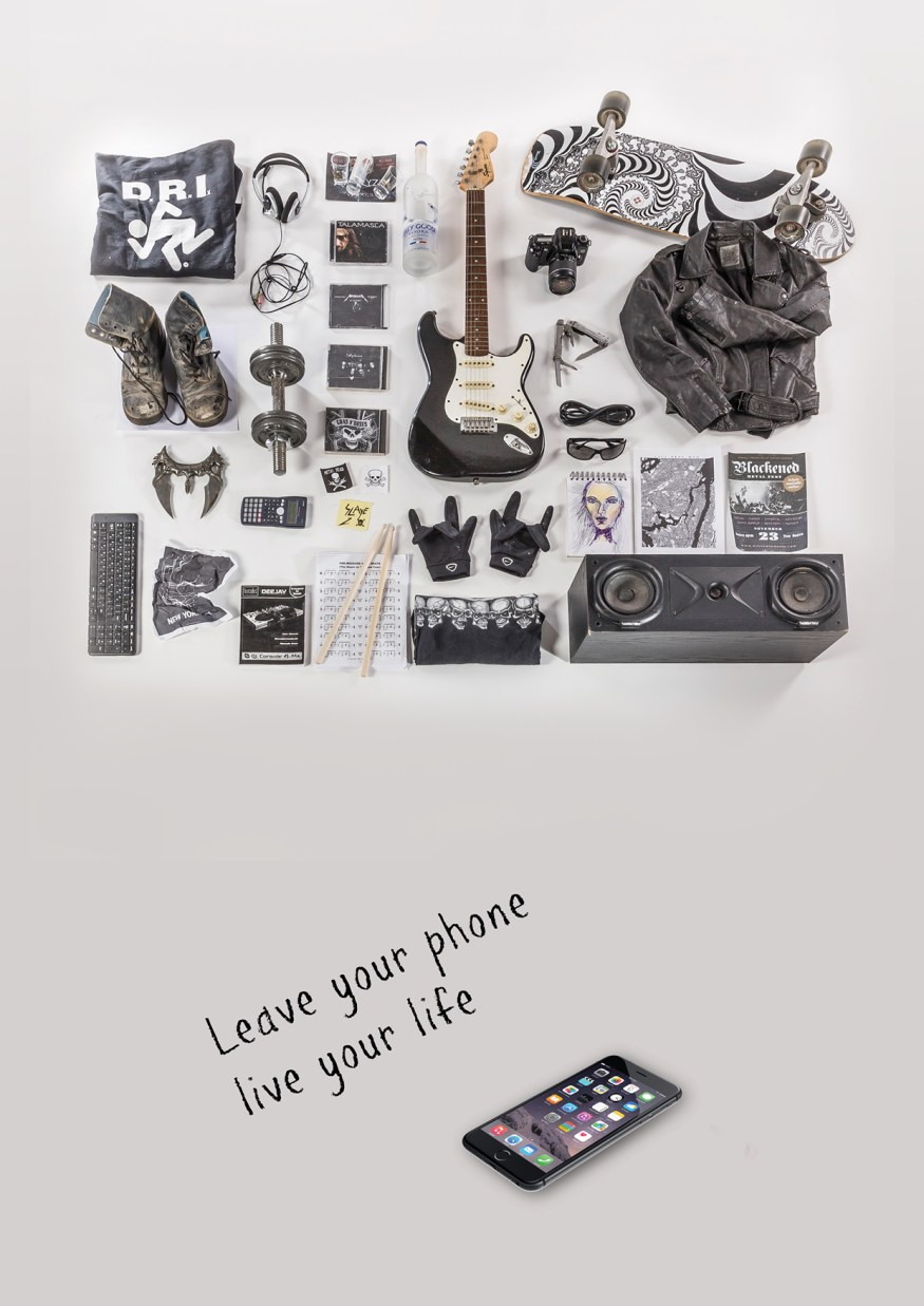 Leave your Phone. Live your Life