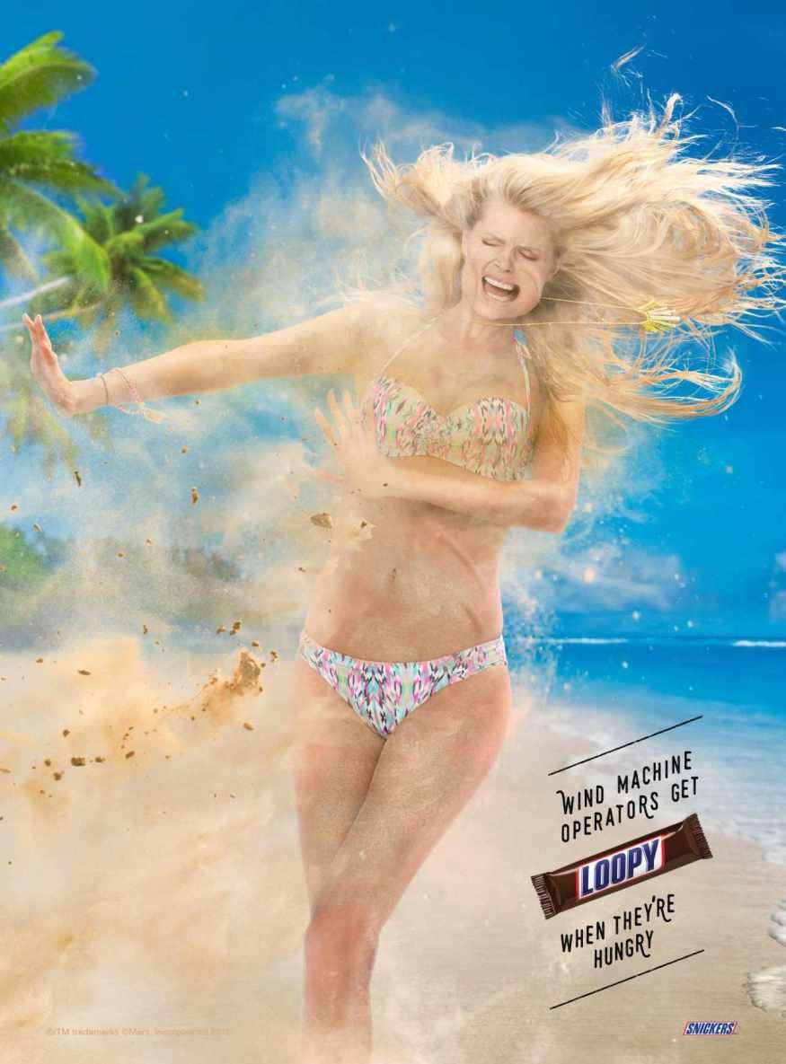 Snickers-Wind-machine