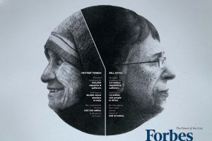 Forbes Magazine: Mother Teresa & Bill Gates