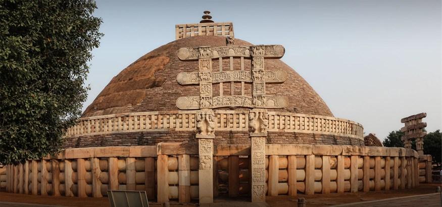 The Great Sanchi Stupa