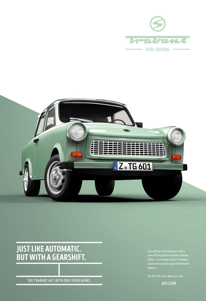 Trabant 601: Pure driving