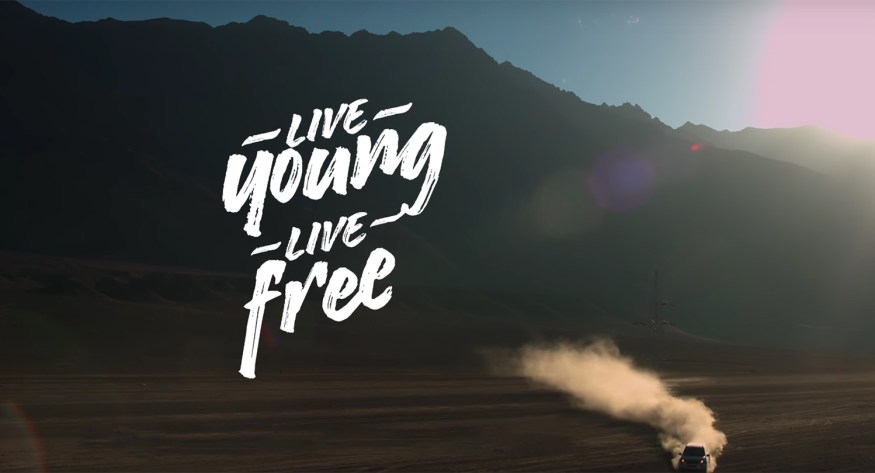 Mahindra's You Live Young ad