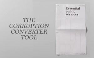 The Corruption Converter tool