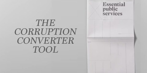 The Corruption Converter tool