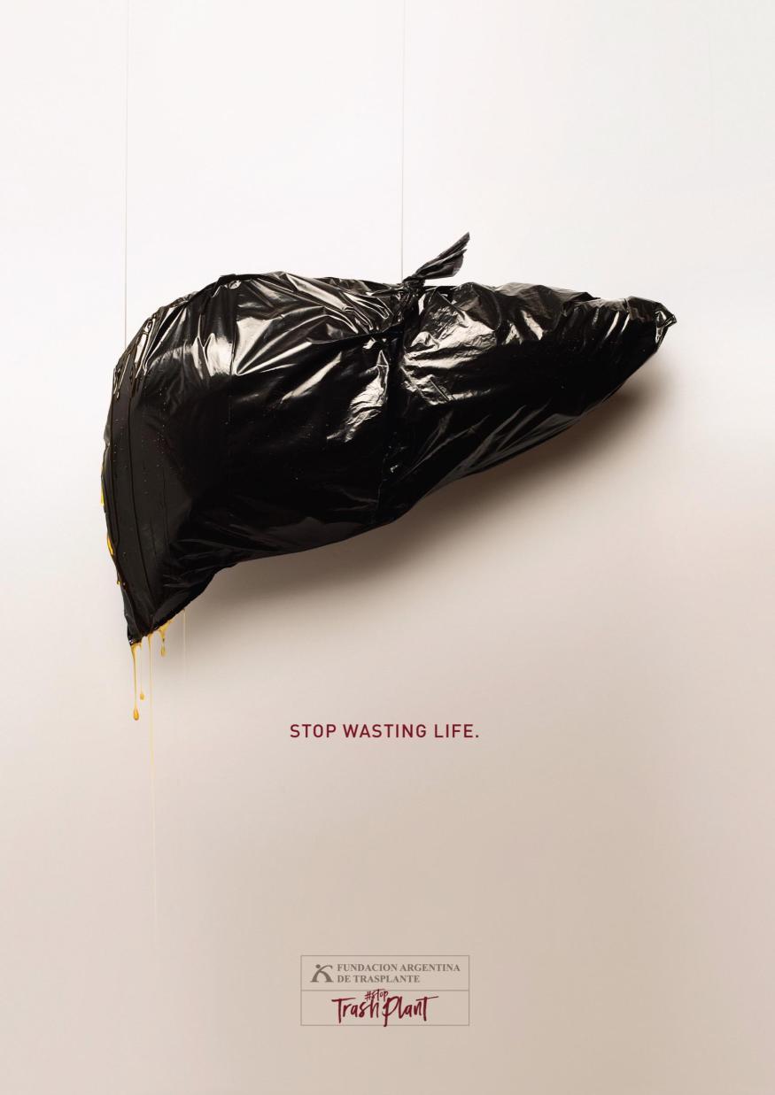 Argentinian Foundation of Liver Transplant: #StopTrashPlant