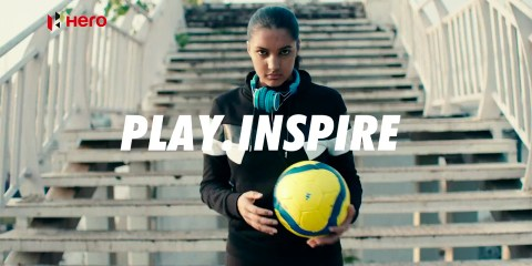 Hero MotoCorp #PlayInspire campaign for FIFA U-17 World Cup 2017