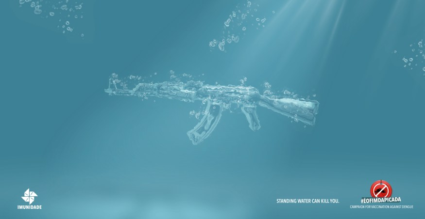 Imunidade - Standing Water Can Kill You | Print Campaign