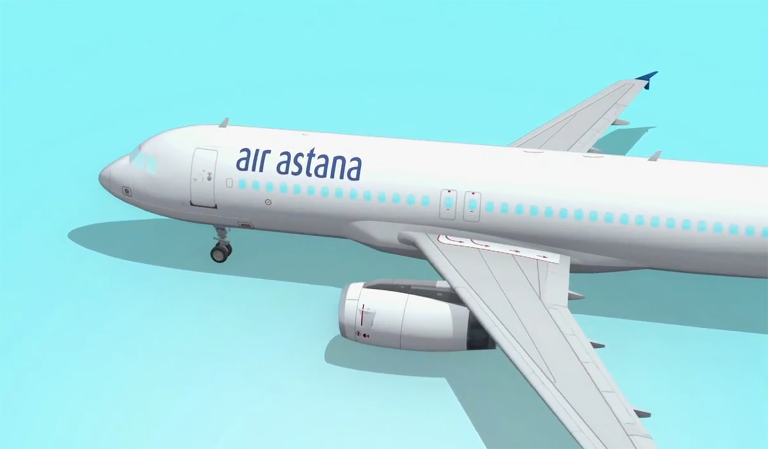 Air Astana welcomes you aboard. Safety video by FCB Almaty
