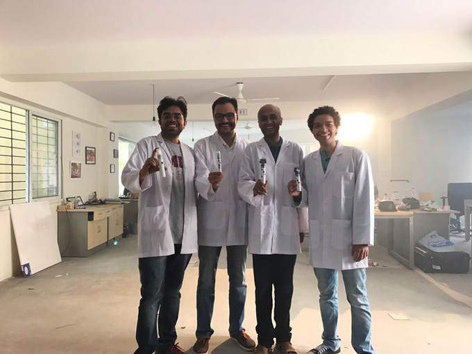 Air Ink Team   Graviky Labs