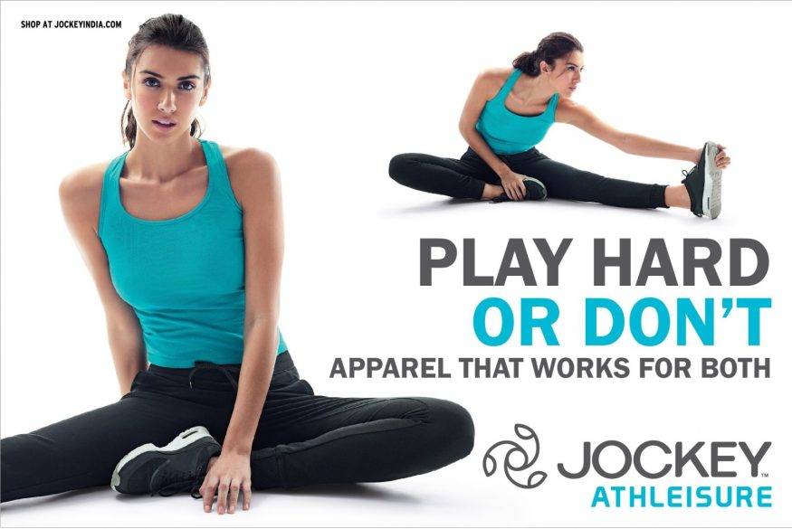 PLAY or RELAX campaign for Jockey Athleisure.