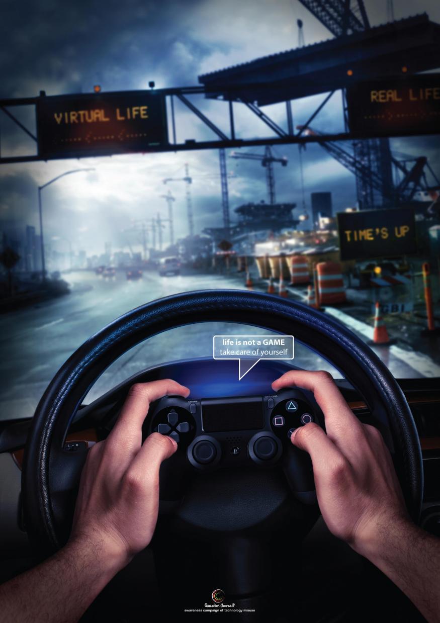 Gaming Awareness campaign