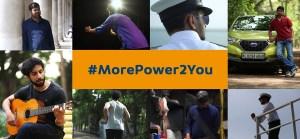Datsun digital campaign #MorePower2You