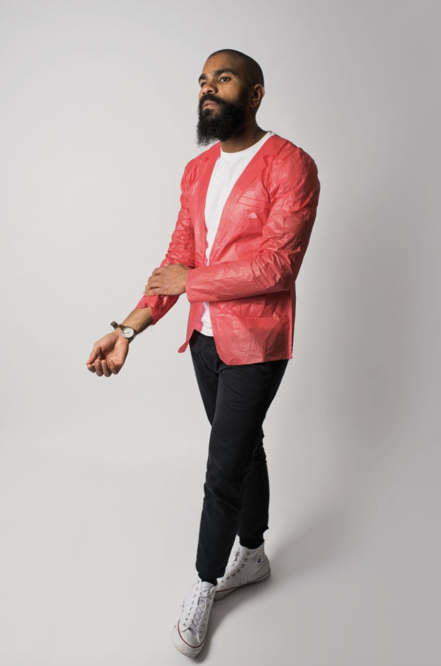 Old Spice - scented paper blazer GQ