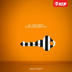 VIP anti-theft bags   Isobar   Digital campaigns   Print Advertising