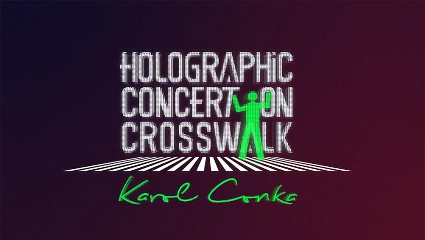 Detran PR | Holographic Concert on Crosswalk