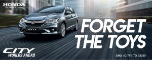 Honda City: Forget The Toys