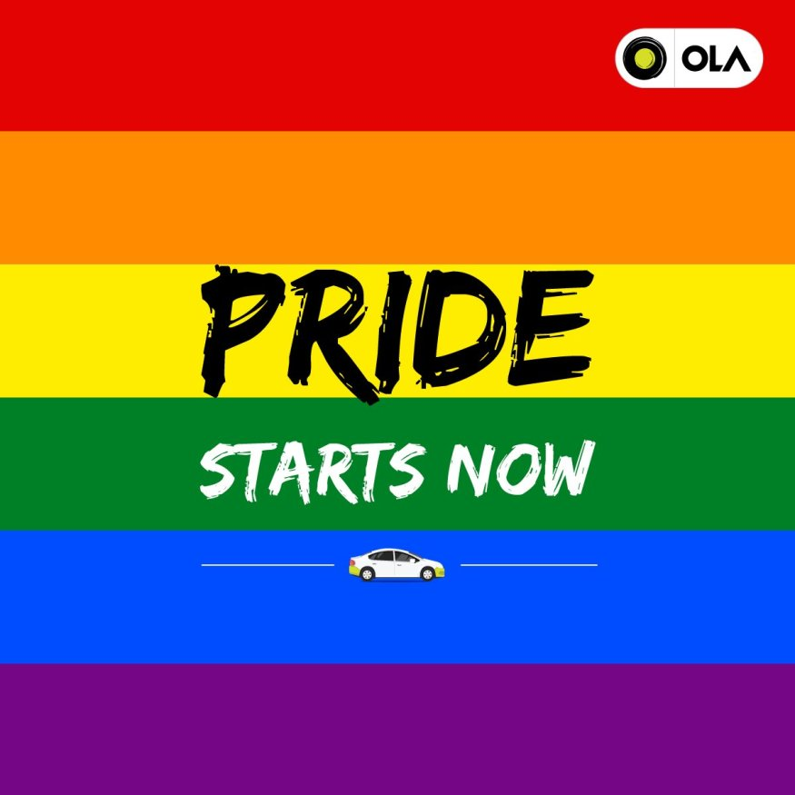Ola pride starts now - Section 377 | LGBTQ