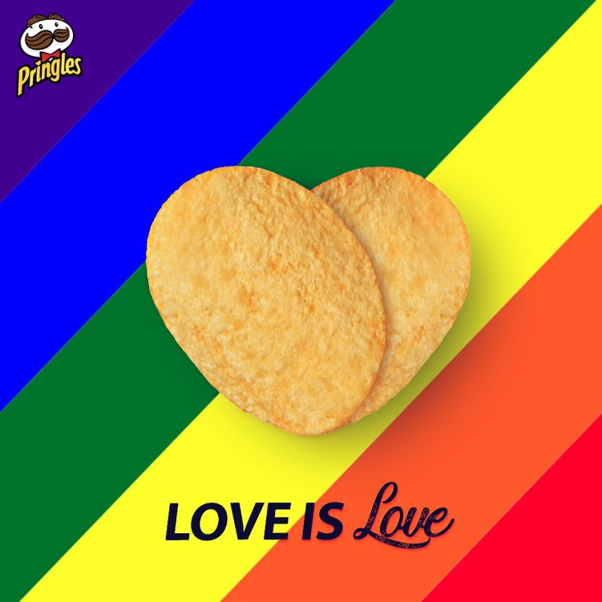 Pringles love is love- Section 377 | LGBTQ