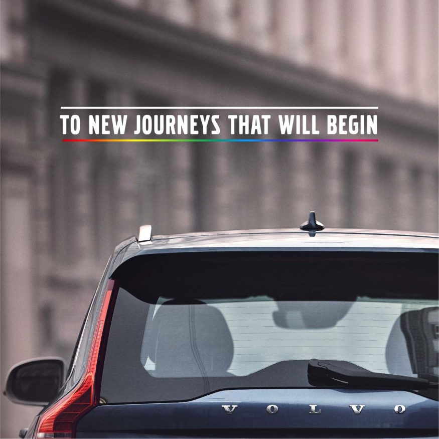 volvo- to new journeys that will begin- Section 377 | LGBTQ