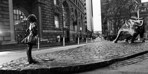 Fearless Girl - International Women's Day