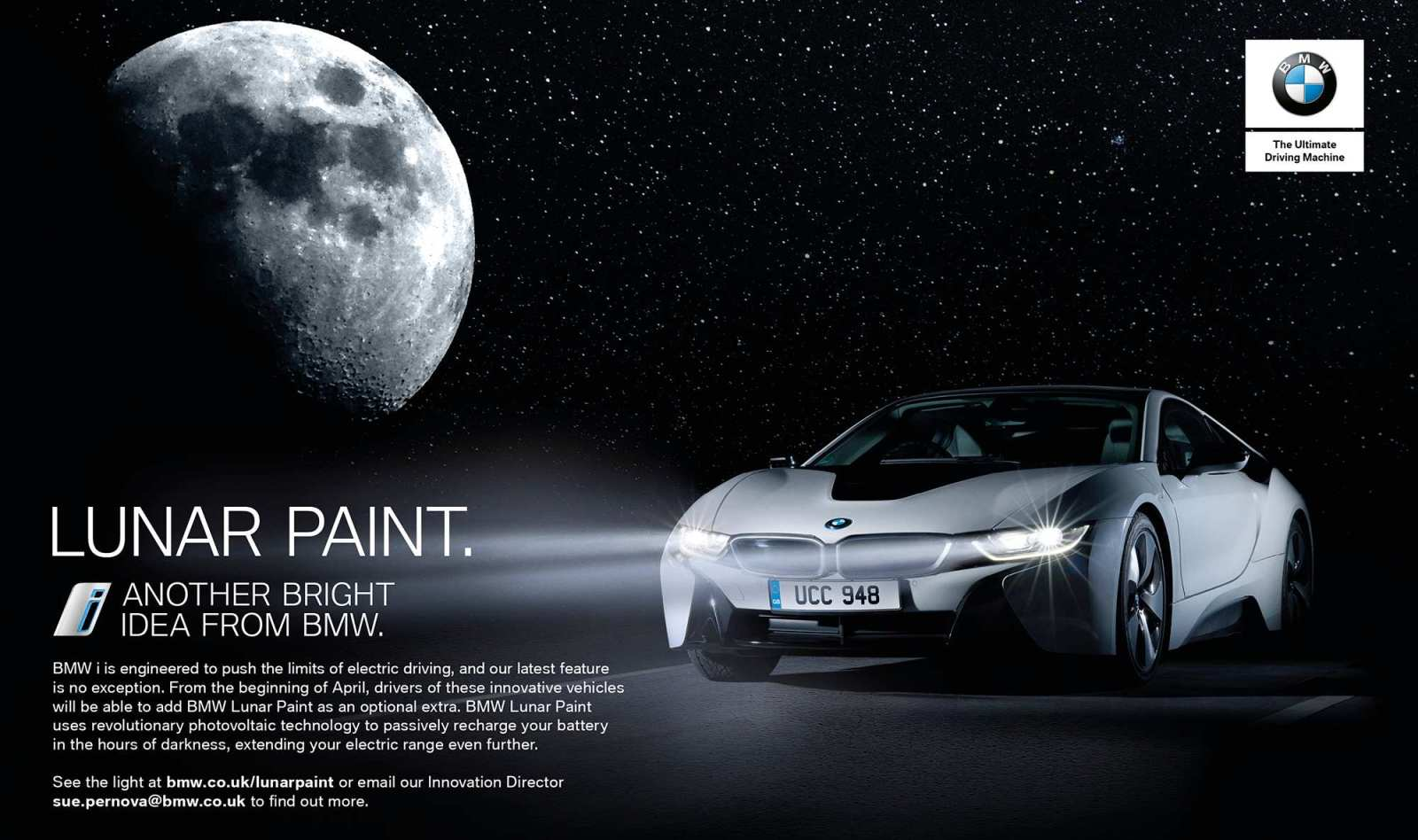 BMW Lunar Paint, the next step in electric driving | Latest Technology
