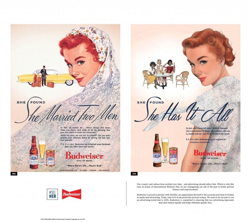 Budweiser - International Women's Day campaign ...