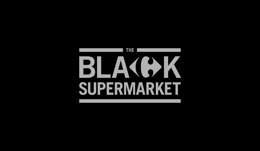 Carrefour - The Black Supermarket | OOH Advertising