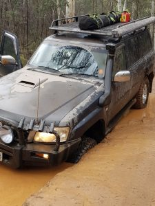 4wd recovery high country
