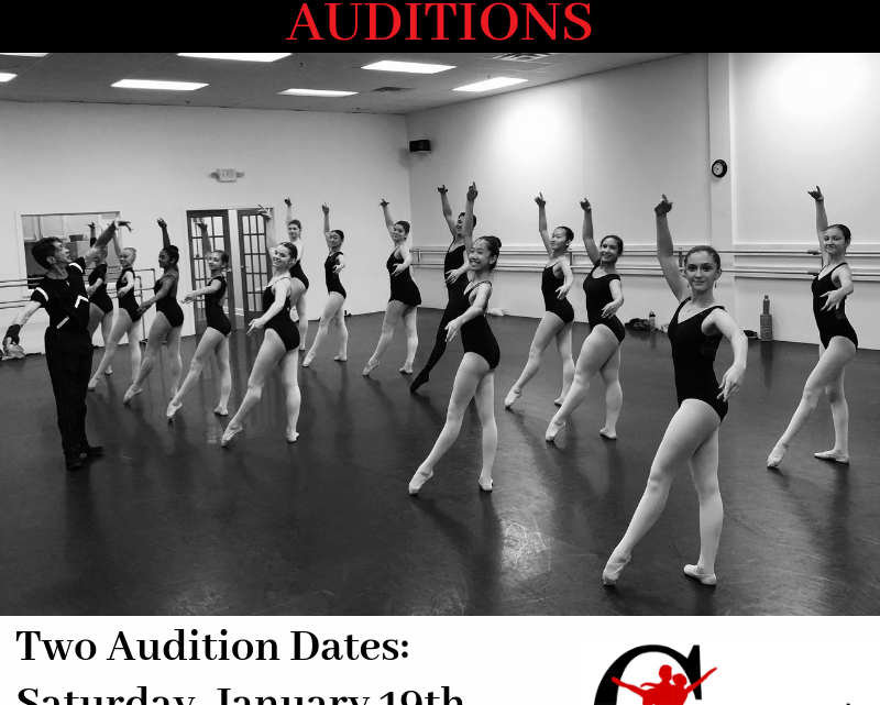 Summer Ballet Audition for Ages 10-12