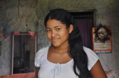 Moça indígena, 2012, por Daniela Alarcon.