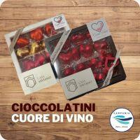 CampaniaTipica - Cioccolatini Cuore di Vino Lacryma Christi del Vesuvio