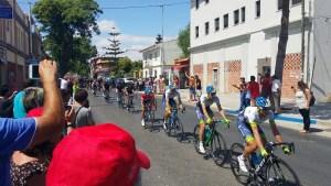 Paso de la Vuleta Ciclista a España por Campanillas