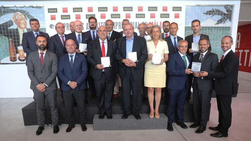 """Federico Beltrán recibe el premio al """"Mejor Empresario"""" en los galardones que otorga la revista Actualidad Económica"""