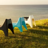 These chairs would be fun on any patio $29.99