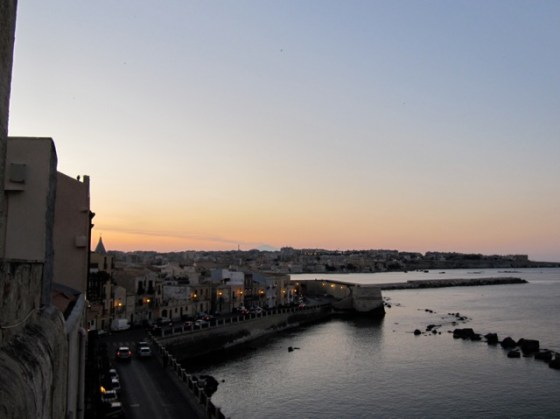 View from my apartment, Ortigia Sicily