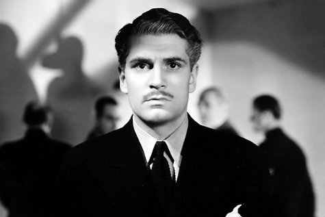"Laurence Olivier as Max de Winter in Daphne DuMaurier's ""Rebecca"""