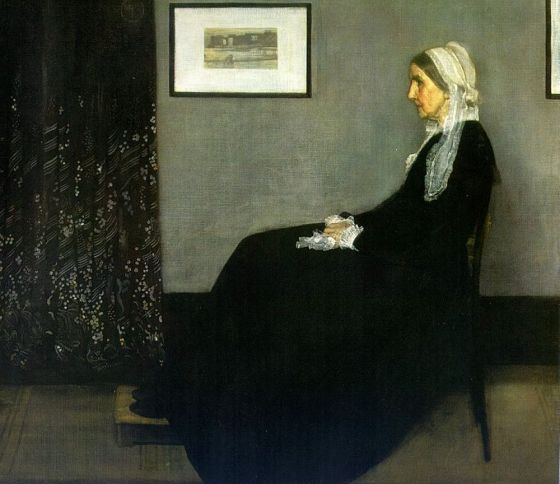 The original Whistler painting