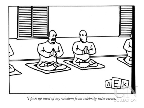 Copyright Bruce Eric Kaplan and the New Yorker